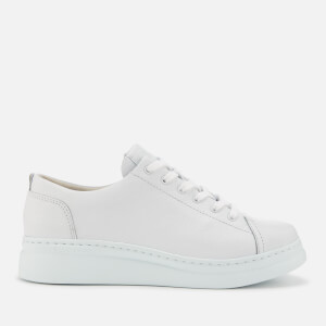 Camper Women's Runner Leather Chunky Flatform Trainers - White