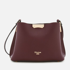 Dune Women's Dinidarrow Small Triangle Base Unlined Tote Bag - Berry