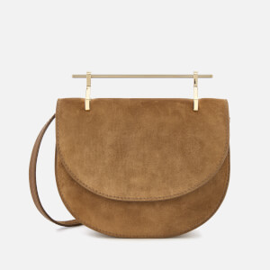 M2Malletier Women's Mini Halfmoon Bag - Desert Camel