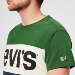 Levi's Men's Colorblock T-Shirt - Eden: Image 4