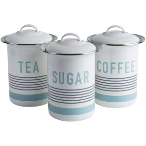Jamie Oliver Vintage Style Storage Tins - Set of 3