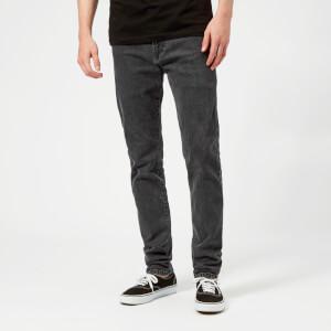 McQ Alexander McQueen Men's Mismatched Strummer Jeans - Grey Denim