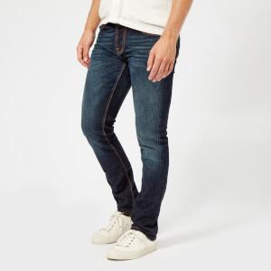 Nudie Jeans Men's Grim Tim Straight/Slim Jeans - Authentic Deep