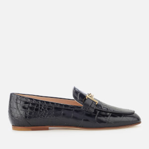 Tod's Women's Leather Loafers - Black