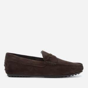 Tod's Men's Leather Driving Shoes - Brown