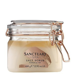 Соляной скраб для тела с ароматом жасмина, пачули и сандала Sanctuary Spa Classic Salt Scrub 650 г