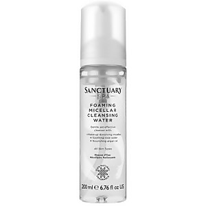 Sanctuary Spa Foaming Micellar Cleansing Water 200 ml