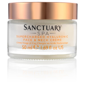 Crema de rostro y cuello hialurónica Supercharged de Sanctuary Spa 50 ml