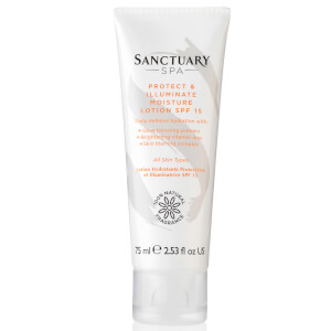 Lotion Hydratante Protectrice et Illuminatrice Sanctuary Spa 75 ml