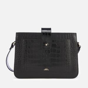 A.P.C. Women's Albane Cross Body Bag - Black