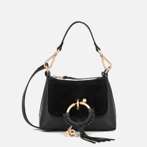 See By Chloé Women's Tassel Detail Shoulder Bag - Black