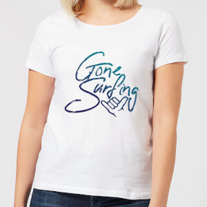 Gone Surfing Women's T-Shirt - White