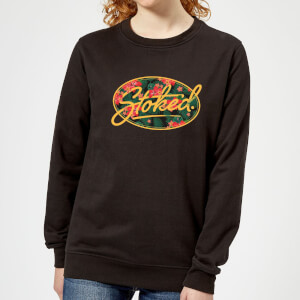 Stoked Women's Sweatshirt - Black