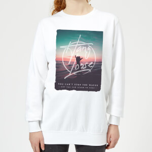 Hang Loose Women's Sweatshirt - White