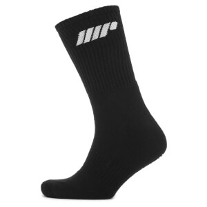 Myprotein 2 Pack Crew Socks - Black