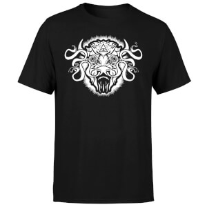American Gods Buffalo Head Men's T-Shirt - Black