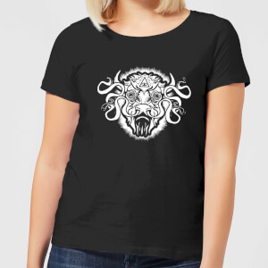 American Gods Buffalo Head Dames T-shirt - Zwart