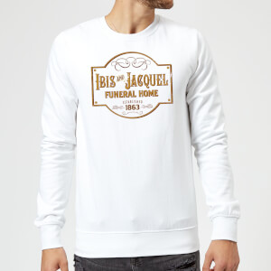 Sweat Homme American Gods Ibis And Jacquel - Blanc