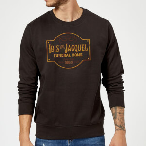 American Gods Ibis And Jacquel Sweatshirt - Black