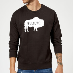 American Gods Believe Buffalo Sweatshirt - Black