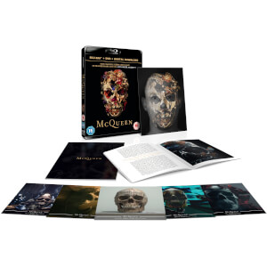 McQueen - Limited Edition Lenticular Sleeve: Blu-ray + DVD + Digital Download