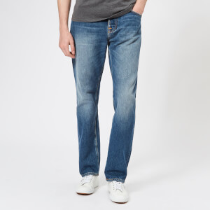 Nudie Jeans Men's Sleepy Sixteen Straight Jeans - Celestial Orange