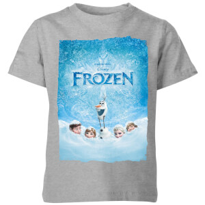 Disney Frozen Snow Poster Kids' T-Shirt - Grey