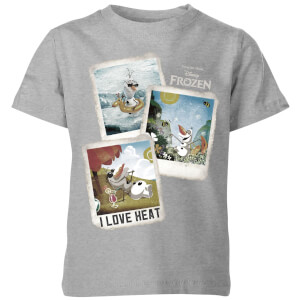 Frozen Olaf Polaroid Kids' T-Shirt - Grey