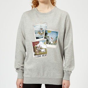 Disney Frozen Olaf Polaroid Women's Sweatshirt - Grey