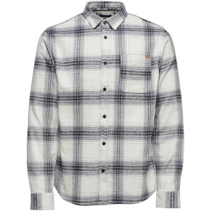 Only & Sons Men's Oconnor Heavy Brushed Check Shirt - Cloud Dancer