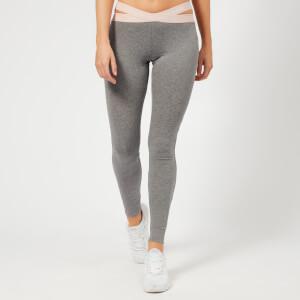 Emporio Armani Women's Iconic Logoband Leggings - Dark Grey Melange