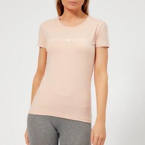 Emporio Armani Women's Iconic Logoband T-Shirt - Nude