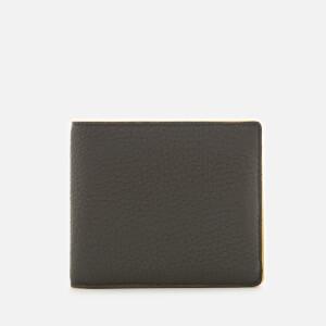 Maison Margiela Men's Leather Bi Fold Wallet - Black