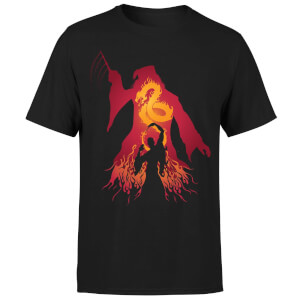 Harry Potter Dumbledore Silhouette Men's T-Shirt - Black