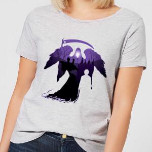 T-Shirt Femme Faucheuse - Harry Potter - Gris