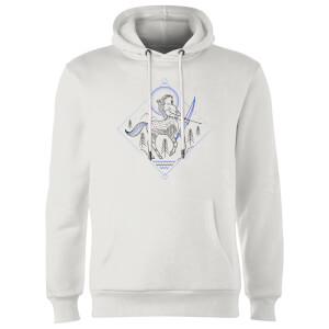 Harry Potter Centaur Line Art Hoodie - White