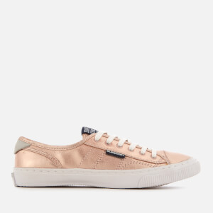 Superdry Women's Low Pro Luxe Trainers - Rose Gold