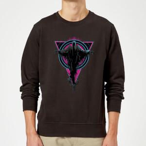 Harry Potter Neon Dementors Sweatshirt - Black