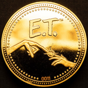 E.T. Collectors Coin: Gold - Zavvi Exclusief (Gelimiteerd tot 1000)