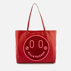 Hill & Friends Women's Happy Slouchy Tote Bag - Oxblood