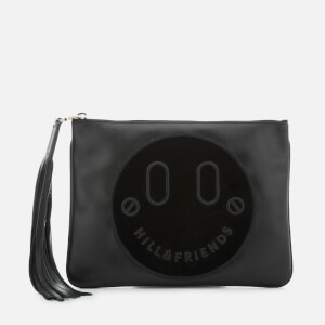 Hill & Friends Women's Slouchy Pouch Bag - Liquorice Black