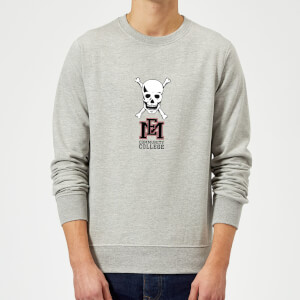East Mississippi Community College Skull and Logo Sweatshirt - Grey