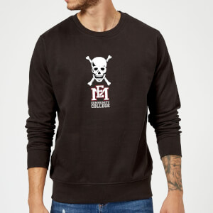 East Mississippi Community College Skull and Logo Sweatshirt - Black
