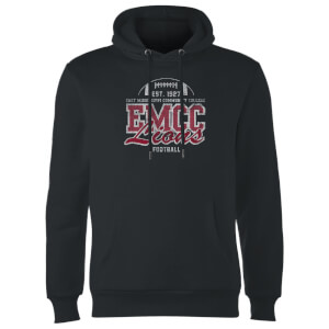 East Mississippi Community College Lions Distressed Hoodie - Black