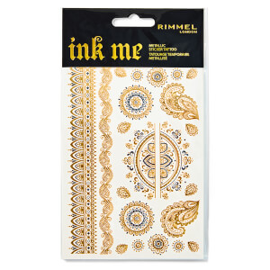 Rimmel Ink Me Metallic Tattoo Transfers