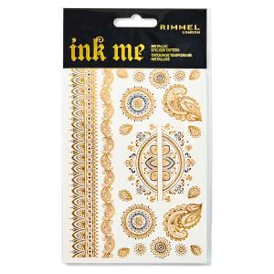 Rimmel Ink Me Metallic Tattoo Transfers