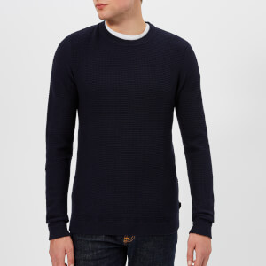 Ted Baker Men's Percypi Crew Neck Knitted Jumper - Navy