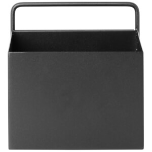 Ferm Living Wall Box - Square - Black