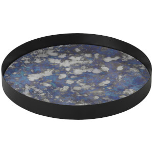 Ferm Living Coupled Round Tray - Large - Blue