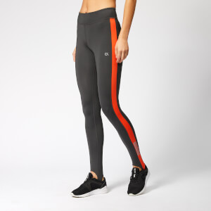 Calvin Klein Performance Women's Stirrup Leggings - Gunmetal